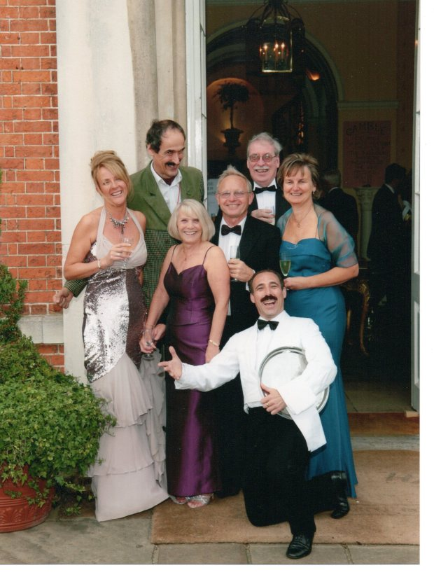 sue sexton, heather, robin slater , anthony adkins and entertainers